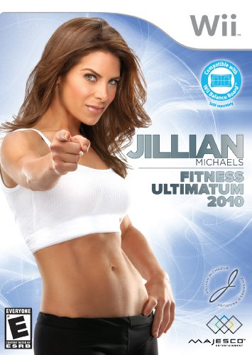 Jillian Michaels Fitness Ultimatum 2010 - Nintendo - Wii Fit Dvd