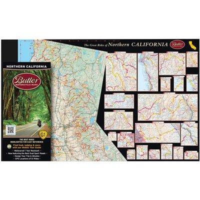 Butler Maps Northern California Map