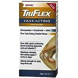 GNC TriFlex Fast-Acting, Caplets 240 ea