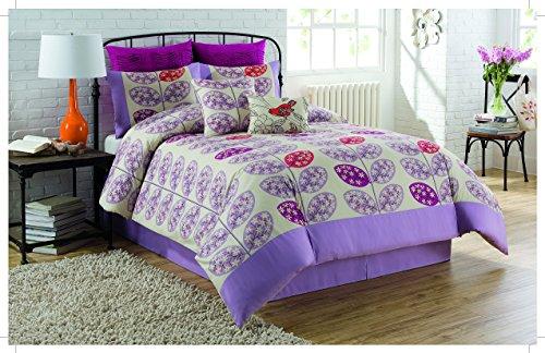 Soho New York Home Lucia 8-Piece Comforter Set, (Lucia Comforter Set)