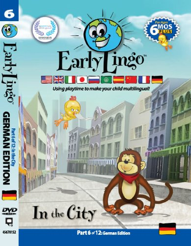 Early Lingo in The City DVD (Part 6 German) from Early Lingo