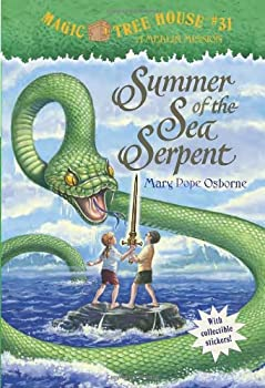 Summer of the Sea Serpent 0375864911 Book Cover