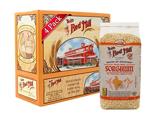 (Bob's Red Mill Gluten Free Sweet White Sorghum Grain, 24 Ounce (Pack of 4) )
