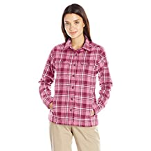 Wolverine womens Redwood Two-sided Brushed Flannel Shirt Jac