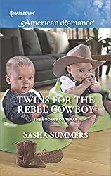 Twins for the Rebel Cowboy (The Boones of Texas)