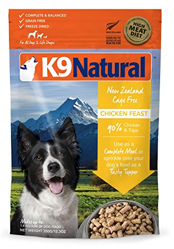 K9 Natural/Feline Natural Freeze Dried Pet Food, 0.77-Pound, Chicken