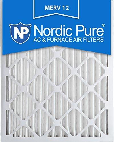 14x 25x 2m12–3MERV 12プリーツ空気条件炉フィルタ、ボックスの3by Nordic Pure