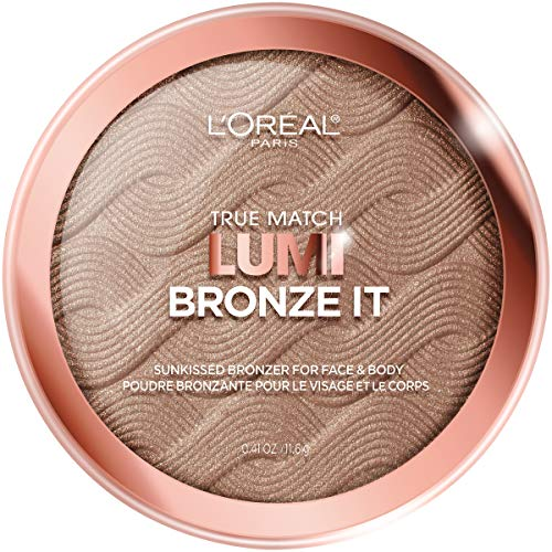 L'Oreal Paris Cosmetics True Match Lumi Bronze It Bronzer For Face And Body, Deep, 0.41 Fluid Ounce