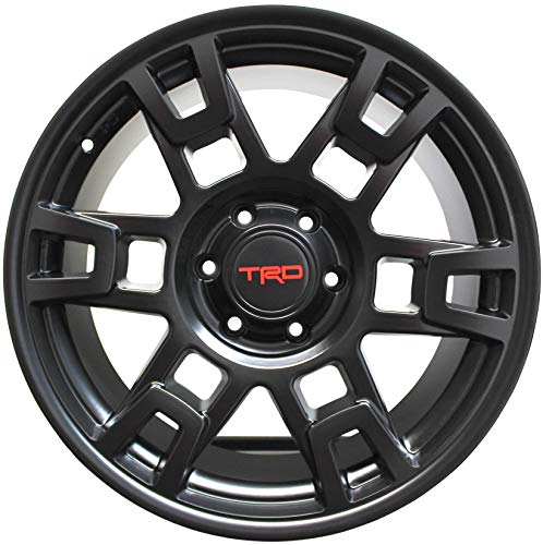 17 INCH Toyota TRD PRO Style Rims FIT 4RUNNER FJ Cruiser Tacoma SEMA Wheels (Toyota 4runner Wheels)