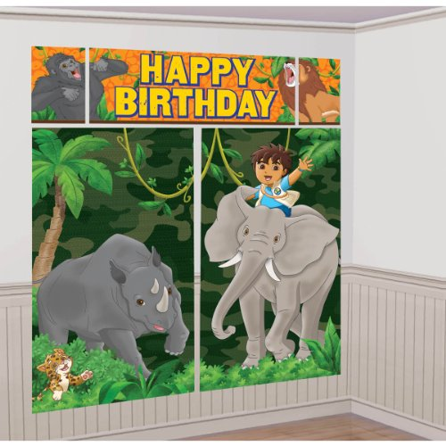 Diego Scene Setter (5 Piece Set) - Go Diego Go Birthday Party