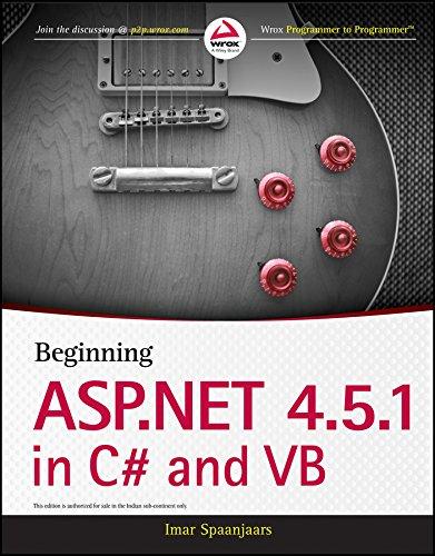 Beginning ASP.Net 4.5.1 in C# and B pdf epub