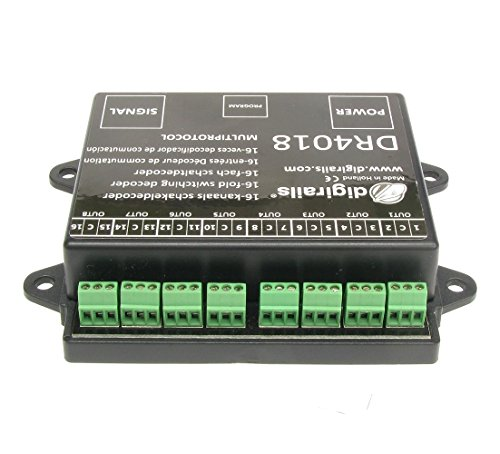 Digikeijs DR4018 16 Channel Switch DECODER - Works with All DCC Brands!