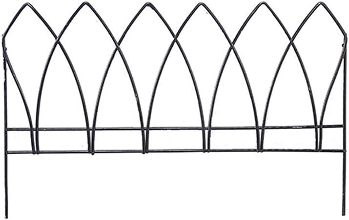 Recinzioni In Ferro Per Giardino.Luluvicky Home Recinzione In Ferro Da Giardino Con Tulipani In