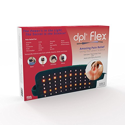 dpl® Flex Pad-Light Therapy Pain Relief Pad-FDA Cleared and Clinically Tested FAR Infrared and Red Light Natural Pain Relief