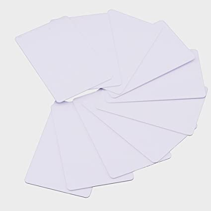 10 X NTAG215 NFC Cards Blank PVC ISO Card NTAG 215 NFC Tag by TimesKey  Compatible with Amiibo and TagMo for Android and All Phone NFC Enabled