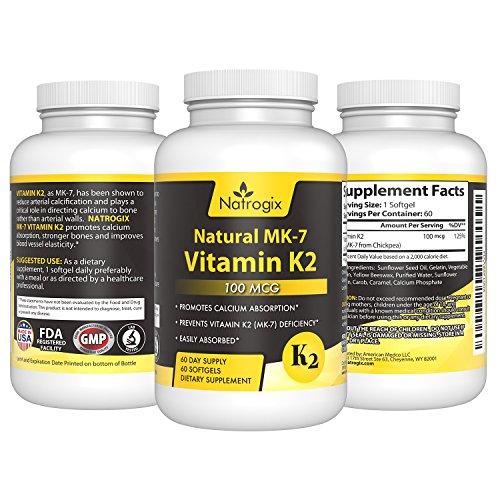 Softgel Vitamin MK 7 Natrogix Calcification product image