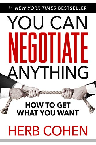 You Can Negotiate Anything - Cans Herb