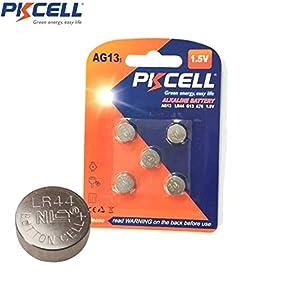 5 x AG13 G13 GP76A 357A LR44 357 A76 SR44W SR357W Watch Battery 145mAh