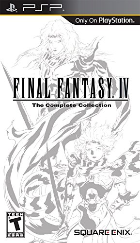 - Final Fantasy IV The Complete Collection - Sony PSP