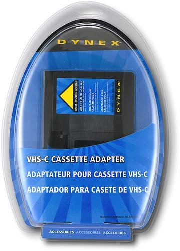 Dynex DX-DA100491 - Video cassette adapter VHS-C to VHS by Dynex