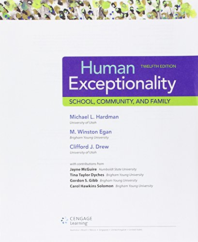 Human Exceptionality (Ll) W/Lms Mindtap