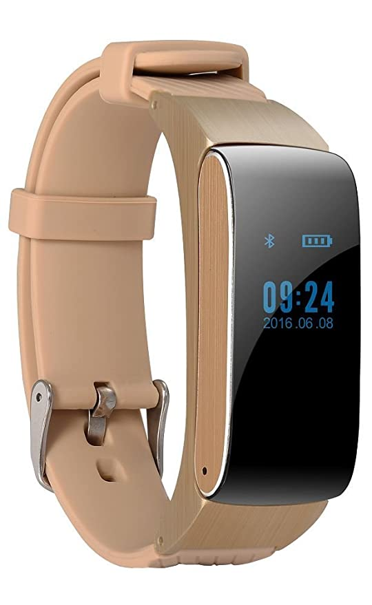 Amazon.com: efanr df22 pulsera inteligente reloj bluetooth ...