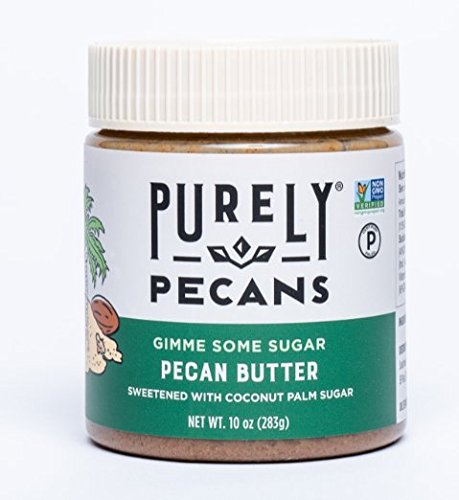 Clean Pecan Butter with Coconut Sugar - VEGAN - PALEO