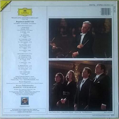 Mozart-Karajan -Requiem : Herbert Karajan, Wolfgang Amadeus Mozart ...