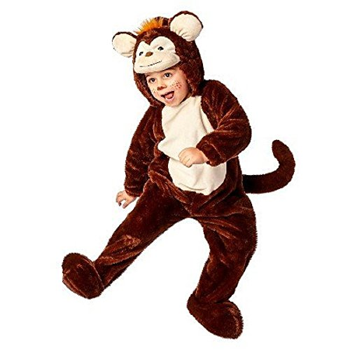 Toddler Monkey Plush Jumpsuit Costume Size 18 - 24 mths for $<!--$24.00-->