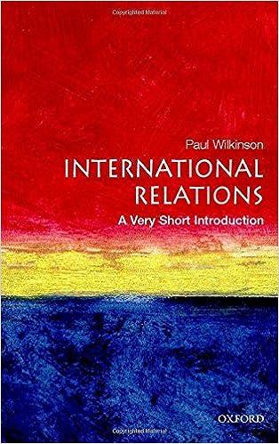 International Relations: A Very Short Introduction por Paul Wilkinson epub