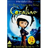 Coraline - 2 Disc Limited Edition (Includes the 2D and 3D Version and 4 Pairs of 3D Glasses)  [DVD]by Henry Selick
