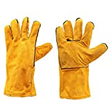 Welders Welding Work Soft Cowhide Leather Plus Gloves for Protecting - Electrical Welding Tools Clothing & Gloves - 1 x Solar Desk Clock