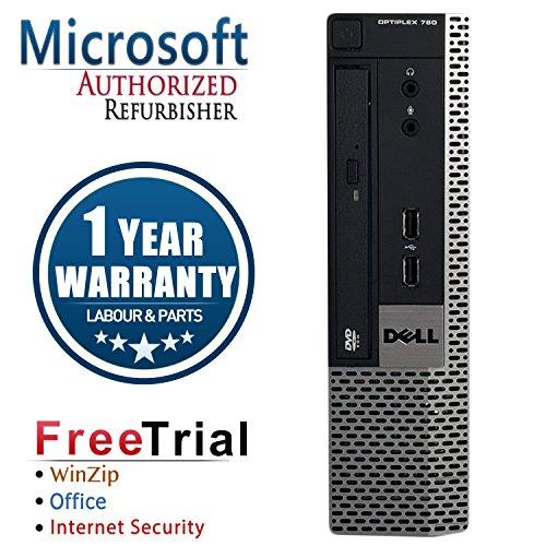 UPC 715007673514, Refurbished - Dell OptiPlex 780 Ultra-Slim Desktop Intel Core 2 Duo E8400 @ 3.00 GHz, 4G DDR3 Memory, 160G Hard Drive, DVD, Windows 7 Professional 64 Bit, 1 Year Warranty