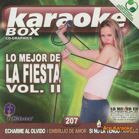 KBO-207 Lo Mejor De La Fiesta 2(Karaoke) (Karaoke Diablo)