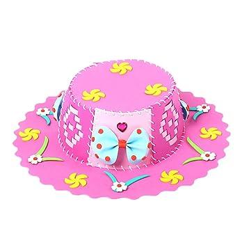 Amazon.com: Sombrero de playa para niños de Brain Games DIY ...