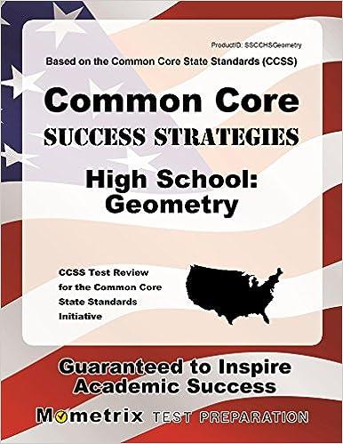 Amazon com: Common Core Success Strategies High School