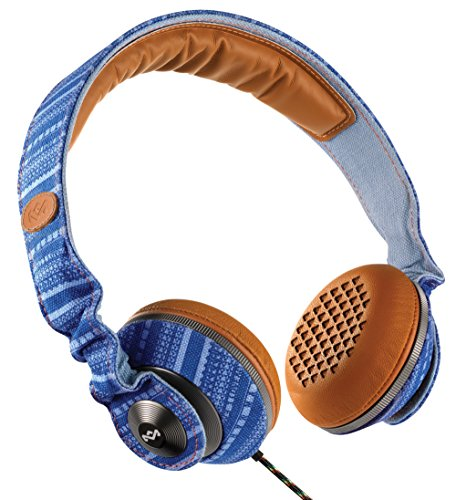 House of Marley EM-JH053-SK Riddim Sky On-Ear Headphones