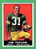 Jim Taylor 1961 Reprint **Hall of Famer** (Packers)