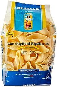 De Cecco Conchiglioni Rigate n.126, 500 g
