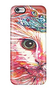 High-quality Durability Case For Iphone 6 Plus(cat Princess Animal Cat)