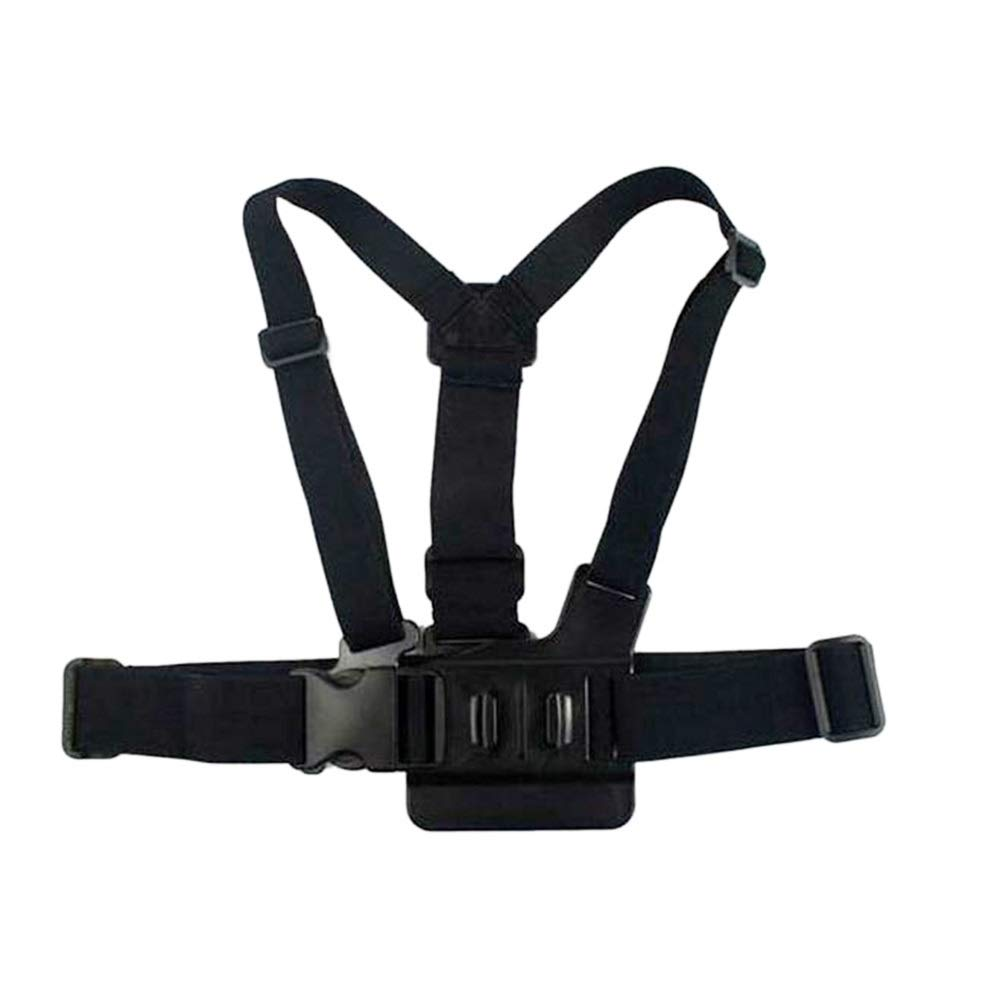 Replacement Chest Mount Harness Adjustable Chest Strap Action Cameras Accessories Compatible with Gopro Hero 6 5 Black by Mingus