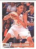 2012 WNBA #60 Candice Dupree - NM-MT