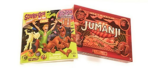 Scooby Doo  Fright At The Fun Park Game And Cardinal Games Jumanji The Game Play Anywhere Edition Bundle
