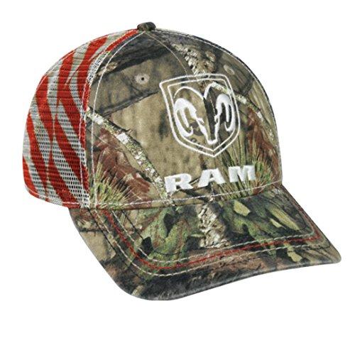 Dodge Ram Mossy Oak Country Americana Patriotic Hat   Cap