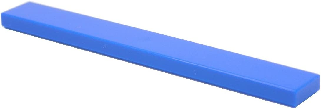 LEGO Parts and Pieces: Blue (Bright Blue) 1x8 Tile x50