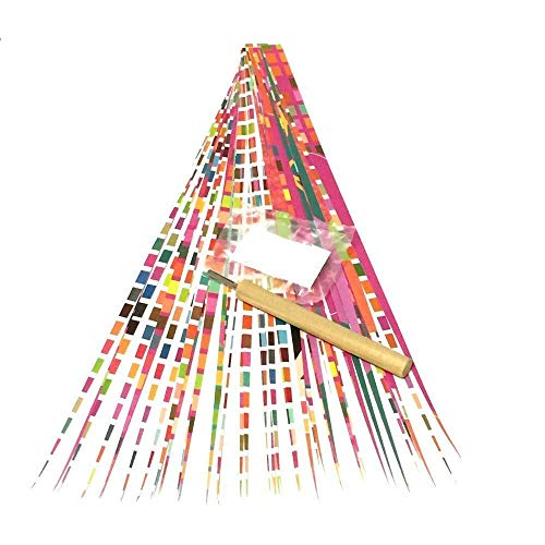 Paper Bead DIY Kit Paper Roller Tool with Slotted Tip, Pack of Paper Strips, Elastic Stringing Cord, and Digital Instructions from Ground Zero Creations