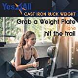 Yes4All 30 lb Ruck Weight – Best Cast Iron Ruck