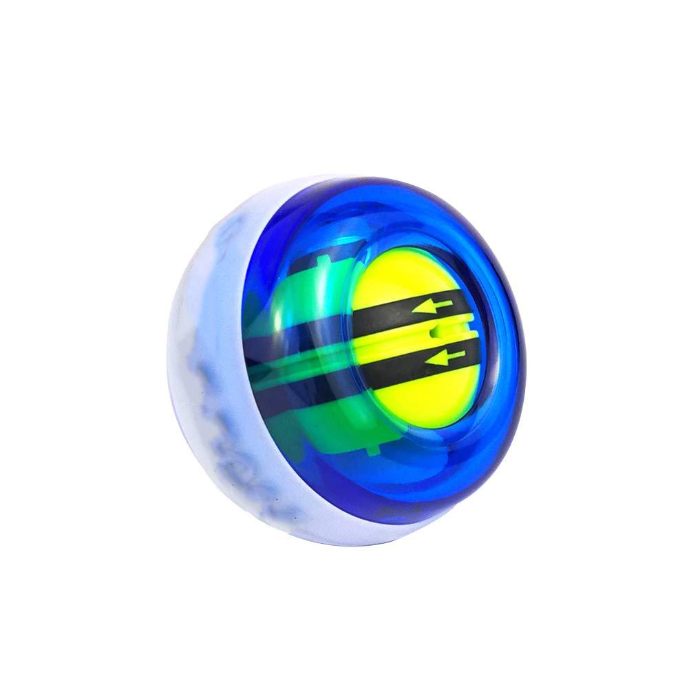 blau Wilk Fitness-Handgelenk-Kugel-Gyroskop-Handgelenk-St/ärkungs Kraft Ball und Unterarmtrainer