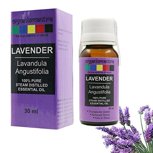 Organix Mantra Lavender Essential Oil, 100% Steam Distilled Natural, Pure and Organic (30ML)