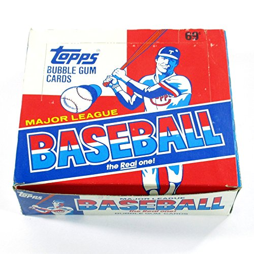 1988 Topps Baseball Cello Box (1988 Unopened Trading Card Box)